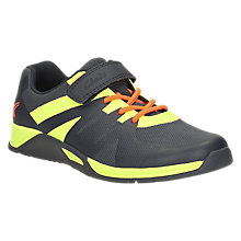Buy Clarks Children's Trace Trainers, Navy Green Online at johnlewis.com