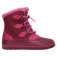 Buy Crocs Children's All Cast Boots Online at johnlewis.com