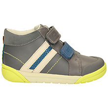 Buy Clarks Children's Lil Folk Mac Boots, Grey Online at johnlewis.com