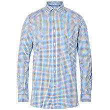 Buy Ted Baker Padget Tailored Fit Shirt, Blue/White Online at johnlewis.com