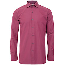 Buy Ted Baker Tamson Micro Dot Shirt, Red Online at johnlewis.com