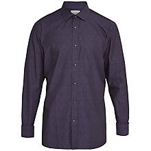 Buy Ted Baker Oysten Shirt, Purple Online at johnlewis.com