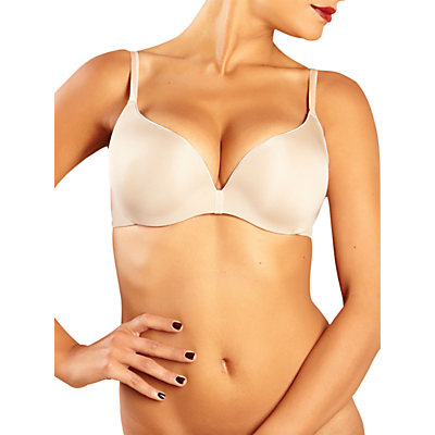 Chantelle Irresistible Push Up T-Shirt Bra, Cappuccino
