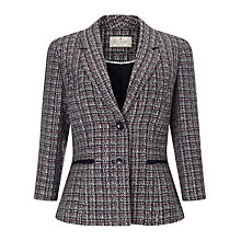 Buy Precis Petite Jeff Banks Tweed Jacket, Multi Online at johnlewis.com