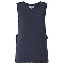 Buy Jigsaw Linen Overlay Side Tie Knit Online at johnlewis.com