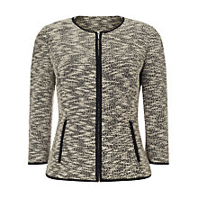 Buy Precis Petite by Jeff Banks Bouclé Jacket, Multi/Ivory Online at johnlewis.com