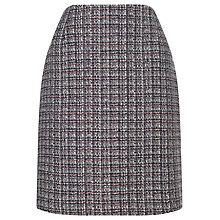 Buy Precis Petite Jeff Banks Tweed A Line Skirt, Grey Online at johnlewis.com