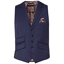 Buy Ted Baker Skipert Salt and Pepper Slim Fit Waistcoat Online at johnlewis.com