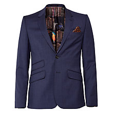 Buy Ted Baker Skiperj Salt and Pepper Slim Fit Suit Jacket, Blue Online at johnlewis.com