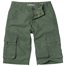 Buy Fat Face Boys' Tenby Cargo Shorts Online at johnlewis.com