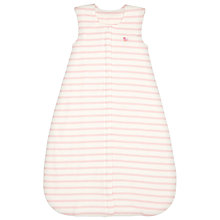 Buy John Lewis Baby Stripe Travel Sleep Bag, 2.5 Tog, Pink Online at johnlewis.com