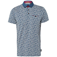 Buy Ted Baker Trarnce Printed Polo Shirt Online at johnlewis.com