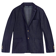 Buy Jigsaw Jacquard Button Jacket Online at johnlewis.com