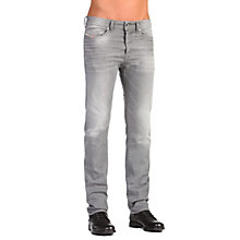 Buy Diesel Buster Stretch Jeans, Light Grey Online at johnlewis.com