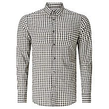 Buy Diesel S-Chains Check Shirt, Black/Bright White Online at johnlewis.com