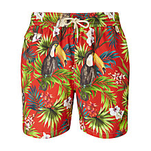 Buy Polo Ralph Lauren Traveler Swim Shorts, Tucan Print Online at johnlewis.com