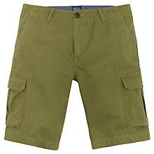 Buy Joules Croft Cargo Shorts, Burnt Olive Online at johnlewis.com