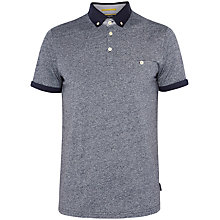 Buy Ted Baker Gangnam Rolled Cuff Cotton Polo Shirt Online at johnlewis.com