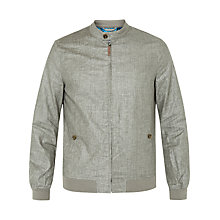 Buy Ted Baker Ryder Jacket, Light Grey Online at johnlewis.com
