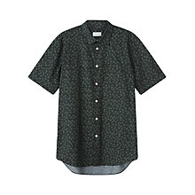 Buy Jigsaw Tie Dye Print Short Sleeve Shirt Online at johnlewis.com