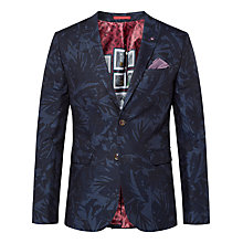 Buy Ted Baker Dorkson Blazer Jacket, Navy Online at johnlewis.com