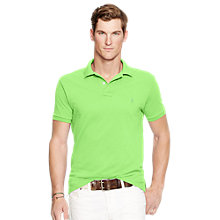 Buy Polo Ralph Lauren Short Sleeve Slim Fit Polo Shirt Online at johnlewis.com