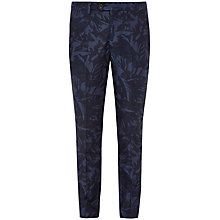 Buy Ted Baker Dorktro Trousers, Navy Online at johnlewis.com