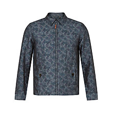 Buy Ted Baker Marwell Printed Harrington Jacket Online at johnlewis.com