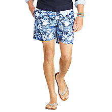Buy Polo Ralph Lauren Traveller Swim Shorts, Watercolor Floral Online at johnlewis.com