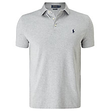 Buy Polo Ralph Lauren Slim Fit Polo Shirt, Andover Heather Online at johnlewis.com