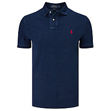 Buy Polo Ralph Lauren KC Custom Fit Cotton Polo Shirt Online at johnlewis.com