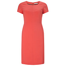 Buy Precis Petite by Jeff Banks Shift Dress, Coral Online at johnlewis.com