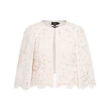Buy Ted Baker Johdiye Lace Scalloped Hem Cape Online at johnlewis.com