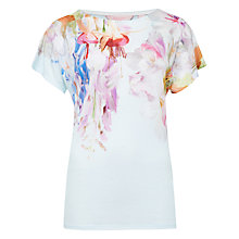 Buy Ted Baker Efuna Hanging Garden T-Shirt, Mint Online at johnlewis.com