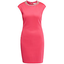 Buy Ted Baker Betiana Embellished Bodycon Dress, Pink Online at johnlewis.com