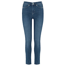 Buy Oasis Rio Wash High Waist Lily Jeans, Denim Online at johnlewis.com
