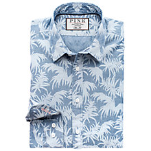 Buy Thomas Pink Hari Print Slim Fit Shirt, Blue Online at johnlewis.com