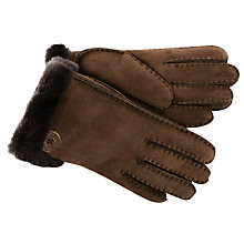 Buy UGG Bailey Shearling Gloves Online at johnlewis.com