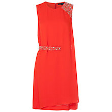Buy French Connection Cecil Drape Dress Online at johnlewis.com