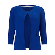 Buy Precis Petite by Jeff Banks Cardigan, Bright Blue Online at johnlewis.com