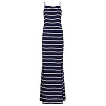 Buy Sugarhill Boutique Striped Maxi Dress, Navy/White Online at johnlewis.com