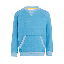 Buy John Lewis Boys' Textured Crew Neck Jumper Online at johnlewis.com