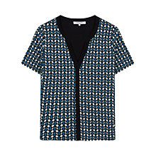 Buy Gerard Darel Tunisien Print T-Shirt, Blue Online at johnlewis.com