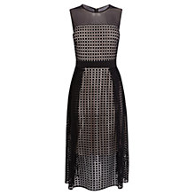 Buy Coast Mevrin Geo Lace Dress, Black Online at johnlewis.com