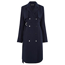 Buy Warehouse Soft Mac, Navy Online at johnlewis.com