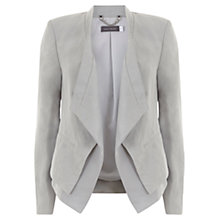 Buy Mint Velvet Double Front Tux Jacket, Grey Online at johnlewis.com
