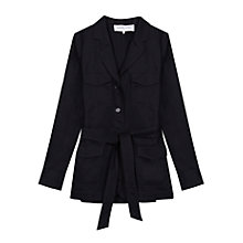 Buy Gerard Darel Coriandre Jacket, Midnight Blue Online at johnlewis.com