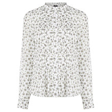 Buy Warehouse Dandelion Pintuck Blouse Online at johnlewis.com