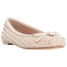 Buy Dune Hobbi Pendent Woven Ballerina Pumps Online at johnlewis.com