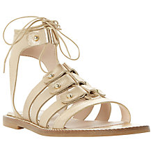 Buy Dune Lorelli Stud Detail Gladiator Sandals Online at johnlewis.com